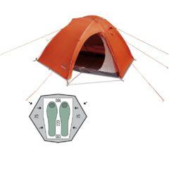 Палатка Pinguin Vega Extreme Orange