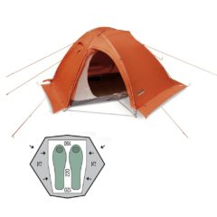 Палатка Pinguin Vega Extreme Snow Orange