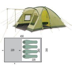Палатка Pinguin Nimbus 4 Green
