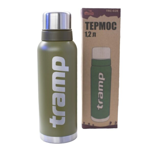 Термос Tramp 1,2 л TRC-028-olive