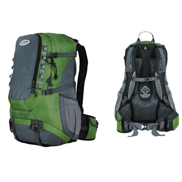 Рюкзак Terra Incognita Across 35 зеленый/серый