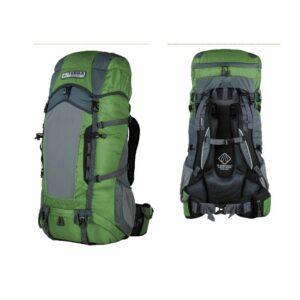 Рюкзак Terra Incognita Action 35 зеленый/серый