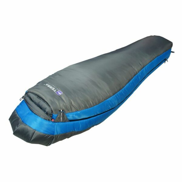 Спальный мешок Terra Incognita Alaska 450 левый/синий