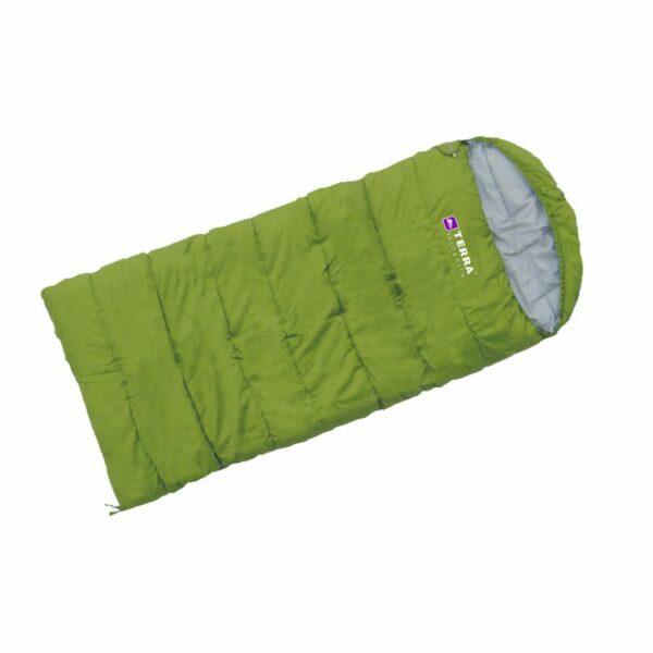 Спальный мешок Terra Incognita Asleep Jr 200 (Правый/Зеленый)
