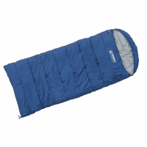 Спальный мешок Terra Incognita Asleep Wide 400 Синий/Правый