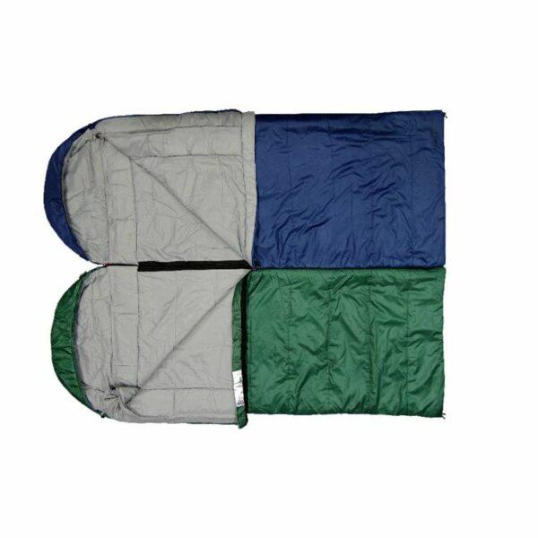Спальный мешок Terra Incognita Asleep Wide 200 Левый/Зеленый