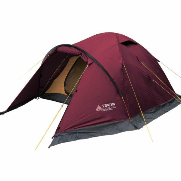 Палатка Terra Incognita Canyon 3 Alu вишневая
