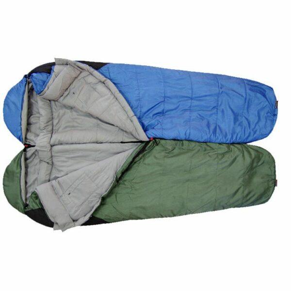 Спальный мешок Terra Incognita Compact 1000 левый красный