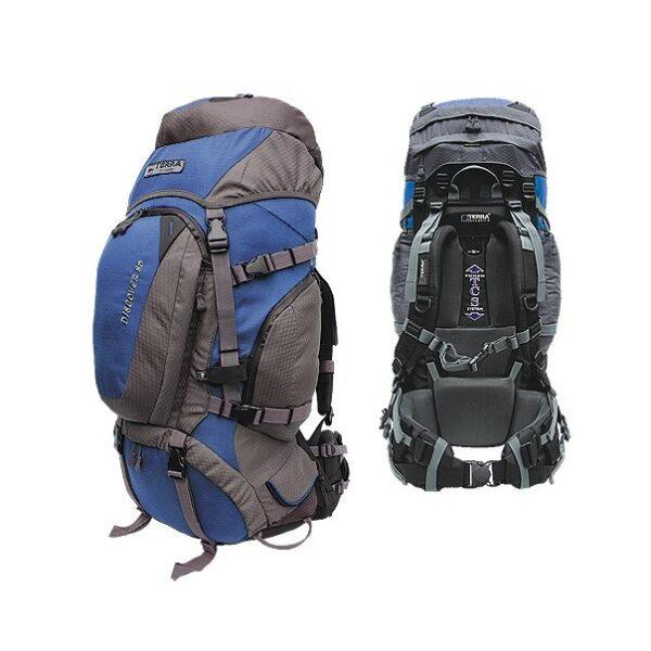 Рюкзак Terra Incognita Discover 85 (синий/серый)