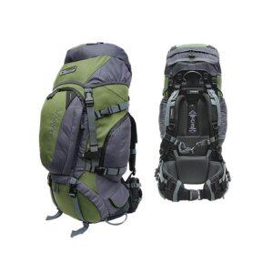 Рюкзак Terra Incognita Discover 55 (зеленый/серый)