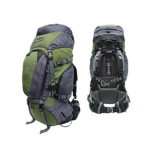 Рюкзак Terra Incognita Discover 100 (зеленый/серый)
