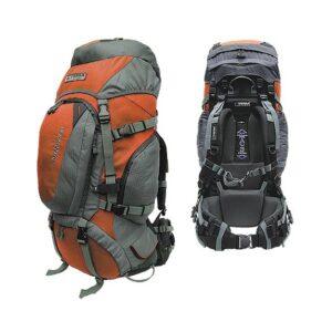 Рюкзак Terra Incognita Discover 55 (оранжевый/серый)