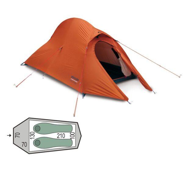 Палатка Pinguin Arris Extreme orange
