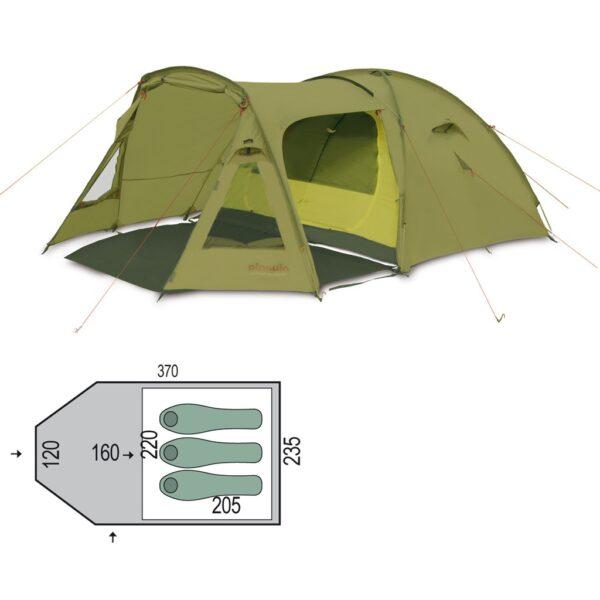 Палатка Pinguin Campus 3