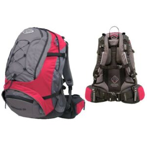 Рюкзак Terra Incognita FreeRider 35 красный/серый