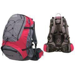 Рюкзак Terra Incognita FreeRider 22 красный/серый