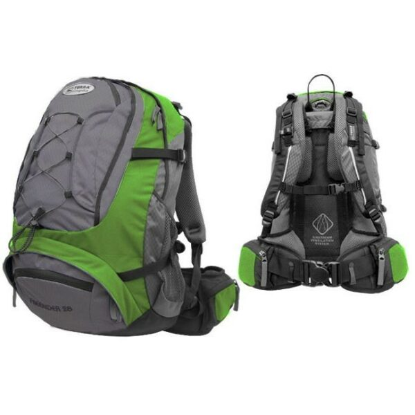 Рюкзак Terra Incognita FreeRider 22 зеленый/серый