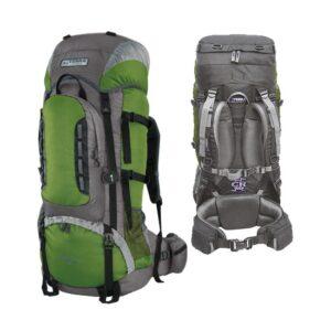 Рюкзак Terra Incognita Mountain 65 зеленый/серый