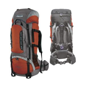 Рюкзак Terra Incognita Mountain 50 оранжевый / серый