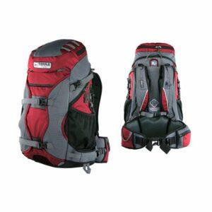Рюкзак Terra Incognita Nevado 40 красный/серый