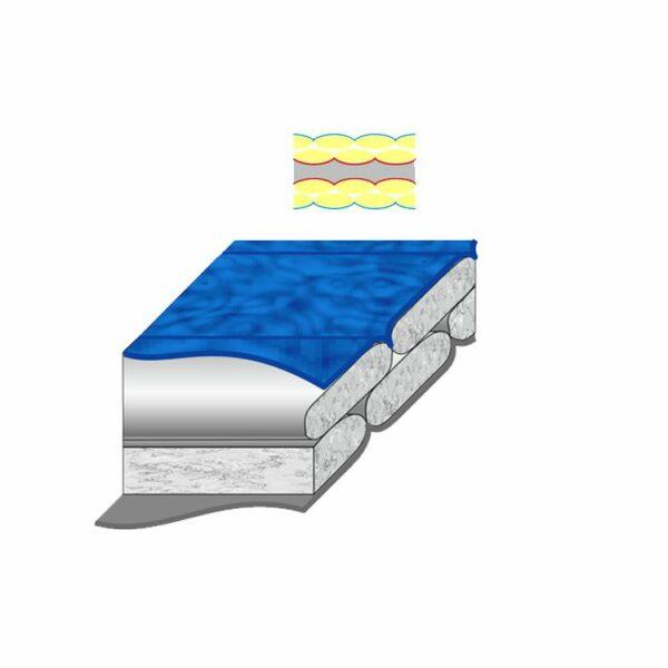 Спальный мешок Terra Incognita Pharaon Evo 400 левый синий