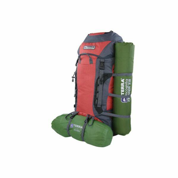 Рюкзак Terra Incognita Rango 55 зеленый/серый