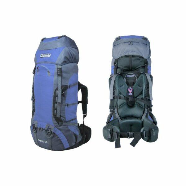 Рюкзак Terra Incognita Rango 75 синий/серый