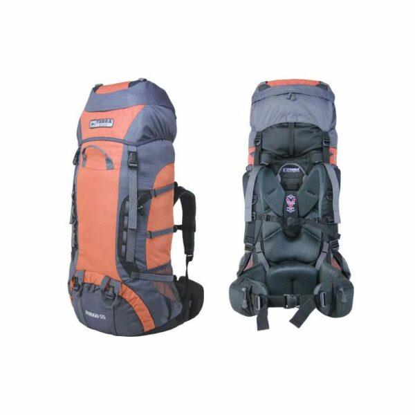 Рюкзак Terra Incognita Rango 55 оранжевый/серый