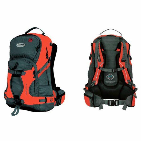 Рюкзак Terra Incognita Snow-Tech 40 оранжевый/серый