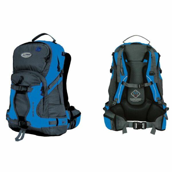 Рюкзак Terra Incognita Snow-Tech 40 голубой/серый