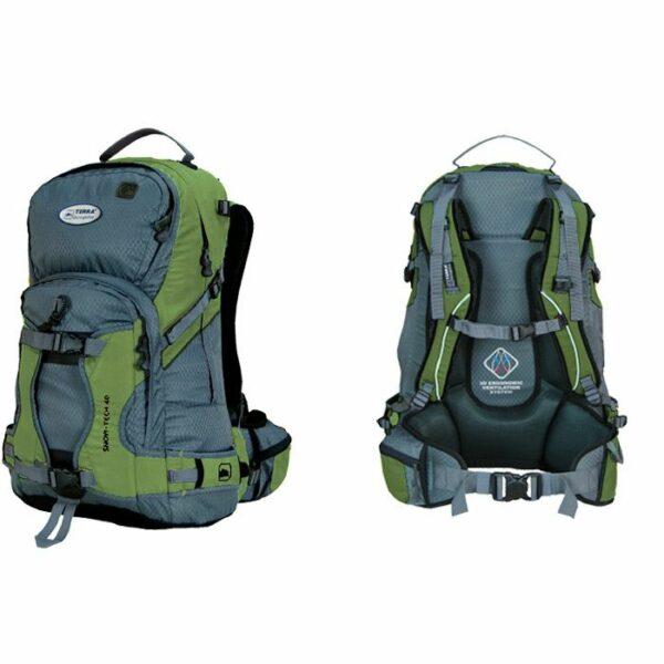 Рюкзак Terra Incognita Snow-Tech 40 зеленый/серый
