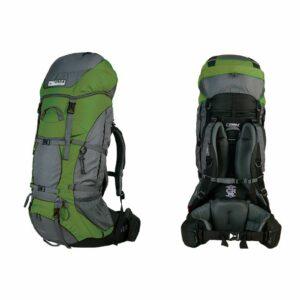 Рюкзак Terra Incognita Titan 60 зелёный/серый