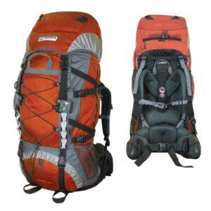 Рюкзак Terra Incognita Trial 55 оранжевый/серый