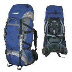 Рюкзак Terra Incognita Trial 90 синий/серый