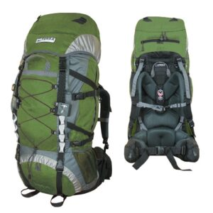 Рюкзак Terra Incognita Trial 90 зеленый/серый