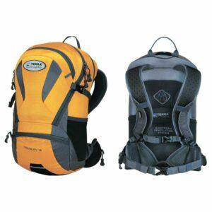 Рюкзак Terra Incognita Velocity 16 желтый/серый