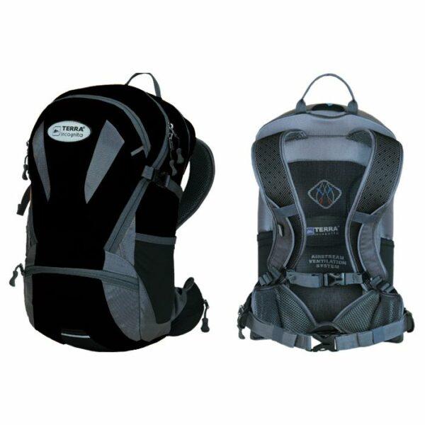 Рюкзак Terra Incognita Velocity 16 черный/серый