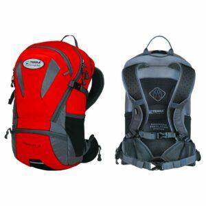 Рюкзак Terra Incognita Velocity 20 красный/серый