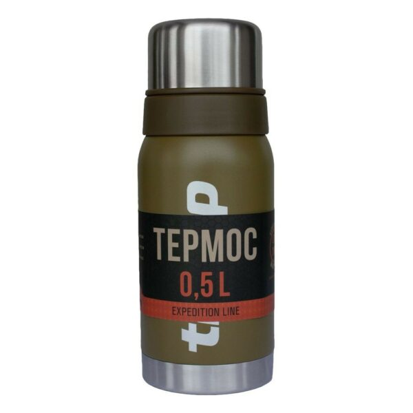Термос Tramp Expedition Line 0,5л TRC-030-olive