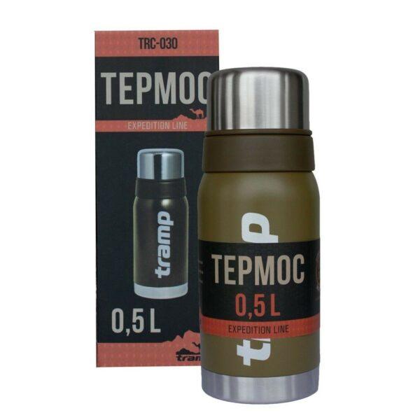 Термос Tramp 0,5л TRC-030-olive