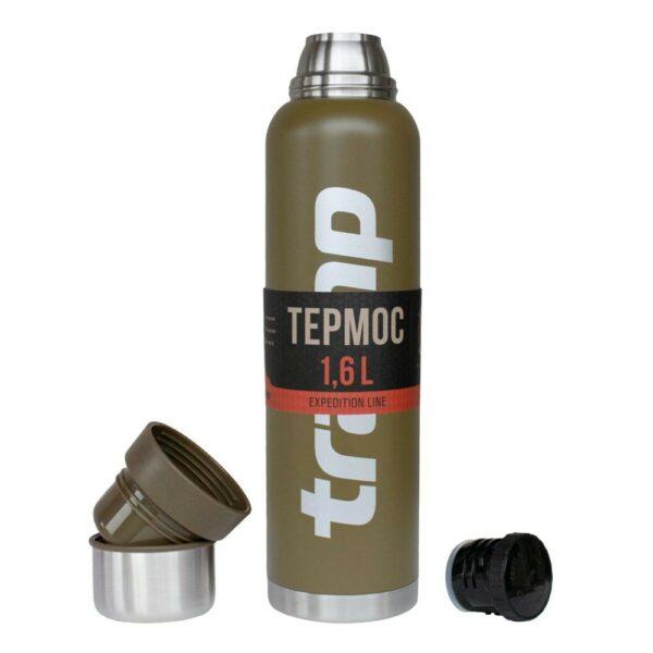 Термос Tramp 1,6л TRC-029-olive